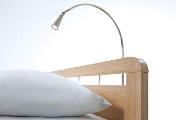 Bedlamp Solid Mat Chrome