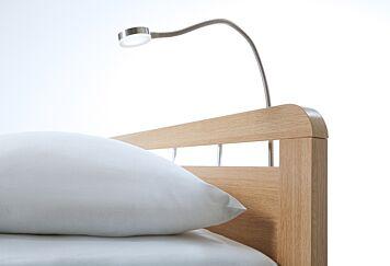 Bedlamp Round Mat Chrome