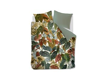 Beddinghouse Begonia Dekbedovertrek Green