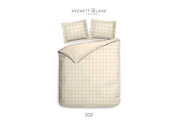 Heckett & Lane Diamante Dekbedovertrek Off-white