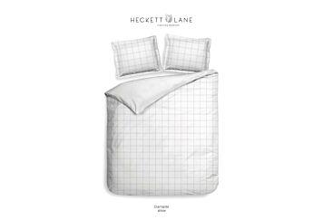 Heckett & Lane Diamante Dekbedovertrek White