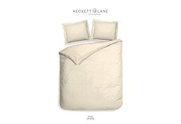 Heckett & Lane Punto Dekbedovertrek Off-white