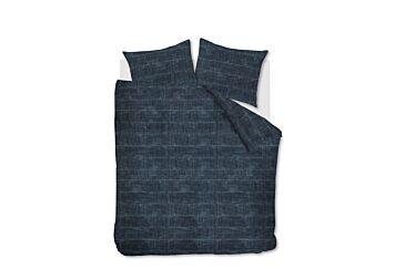 vtwonen Vintage Indigo Dekbedovertrek Dark Blue