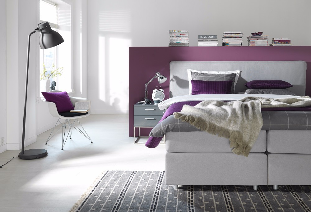 Witte Boxspring Home 300 -2