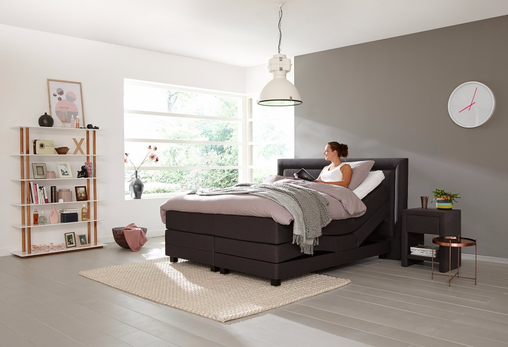 boxspring home 415 swiss sense. Black Bedroom Furniture Sets. Home Design Ideas