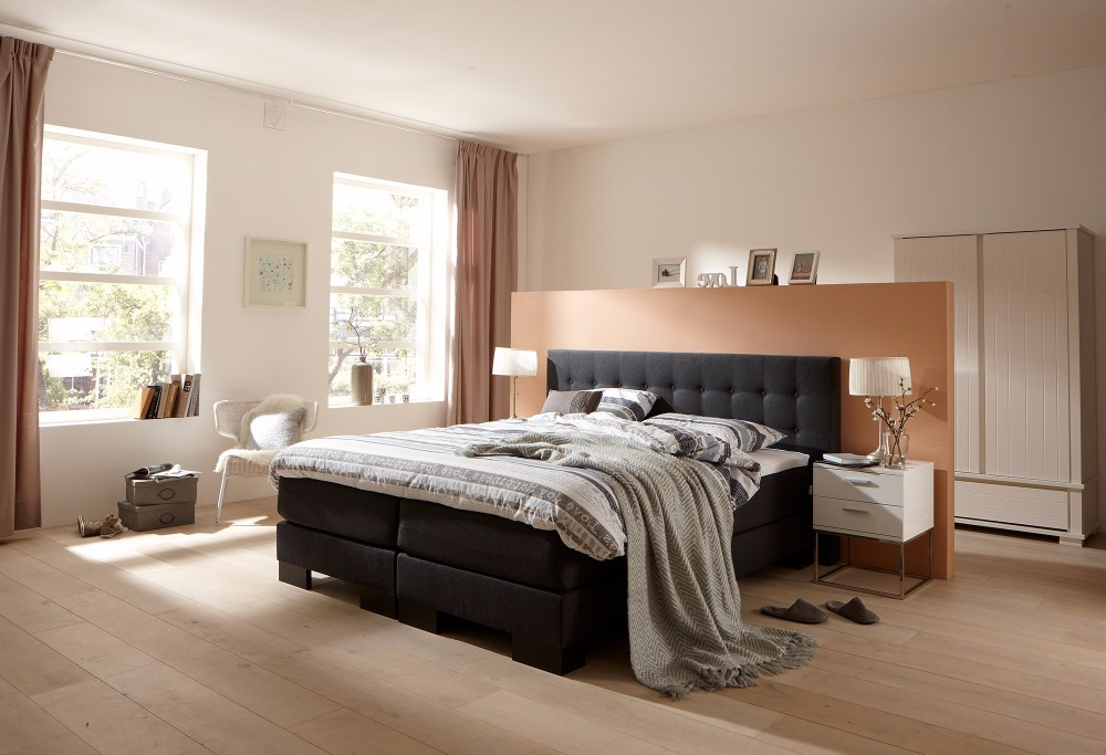 boxspring home 135 swiss sense. Black Bedroom Furniture Sets. Home Design Ideas