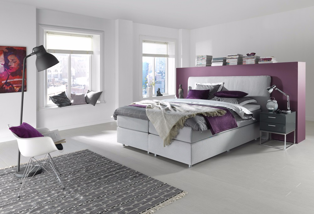 Witte Boxspring Home 300 -1