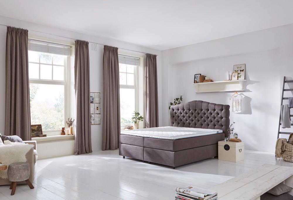 Bruine Boxspring Home 330 -4