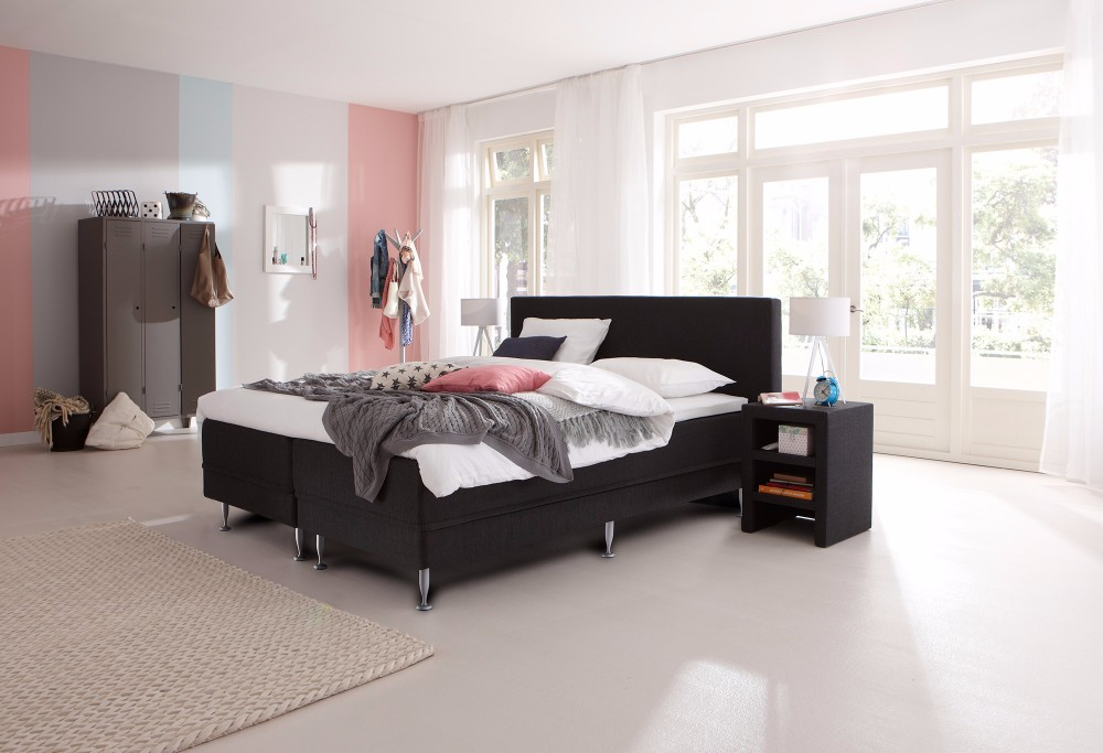 boxspring lifestyle 300 swiss sense. Black Bedroom Furniture Sets. Home Design Ideas