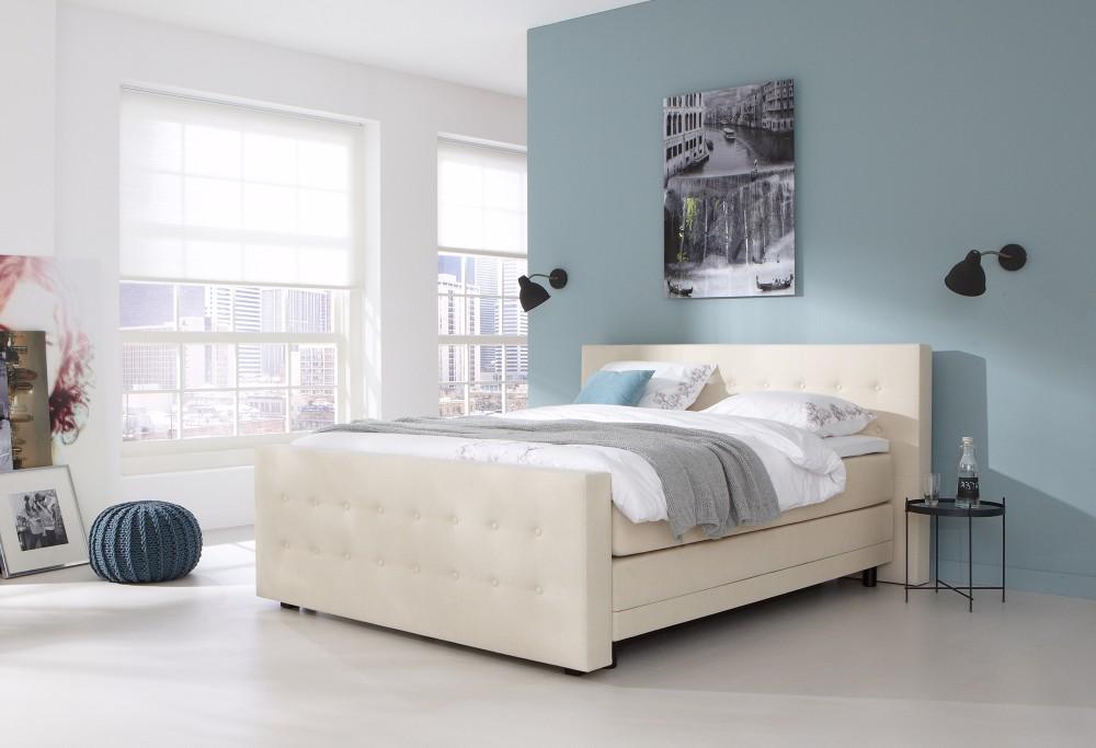boxspring home 240 swiss sense. Black Bedroom Furniture Sets. Home Design Ideas