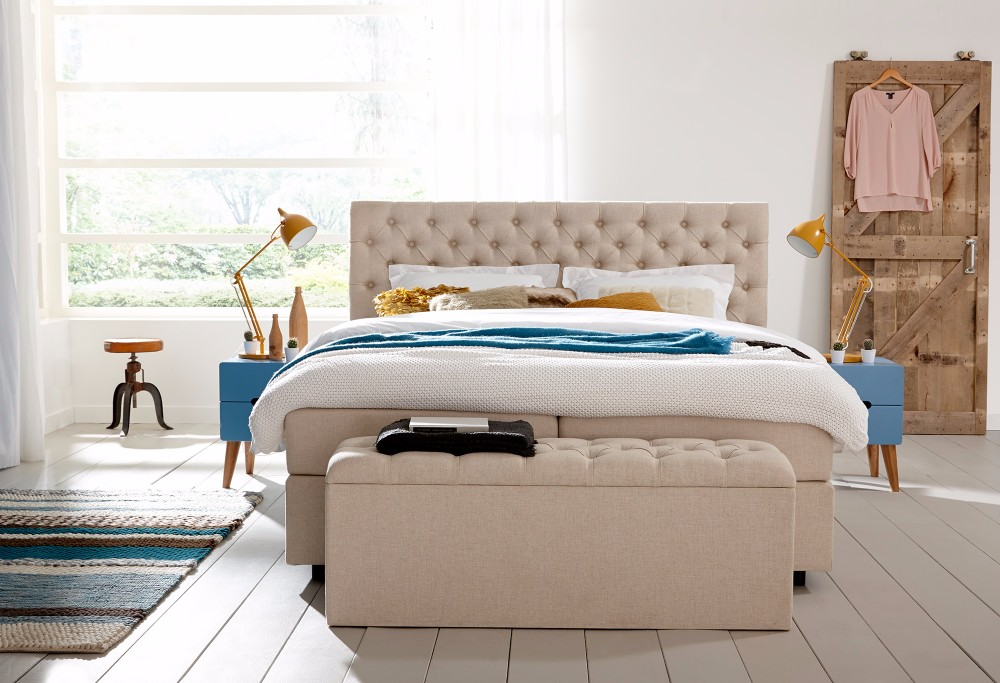 Boxspring Taupe Home 310 -2