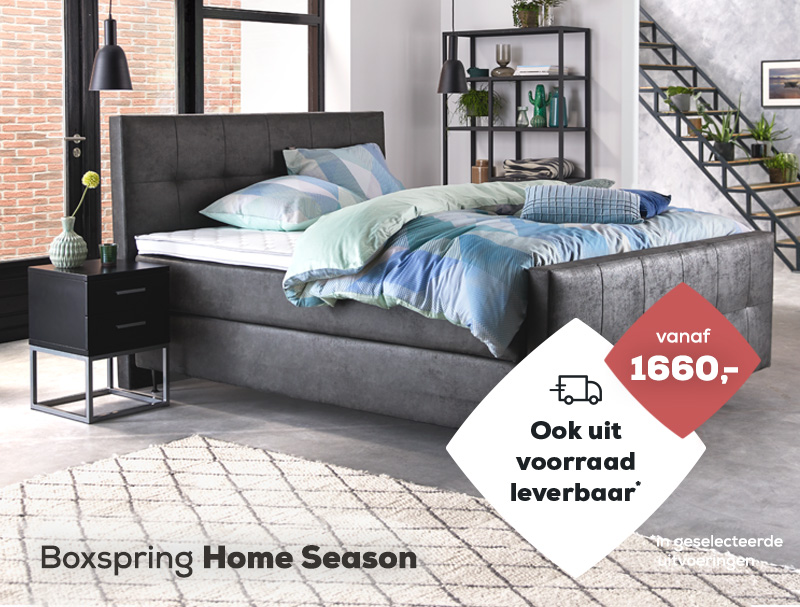 Boxspring Home Season| Swiss Sense