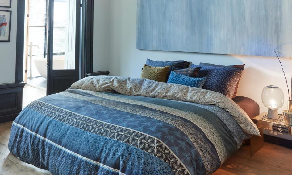 Slaapkamer inrichten: Blauw | Swiss Sense