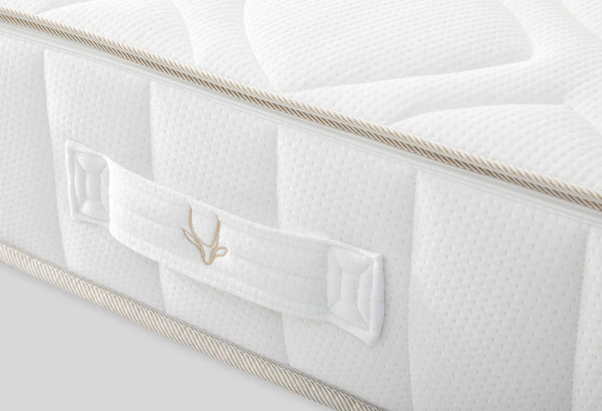 Gazella Comfort II Pocketvering Matras Detail | Swiss Sense