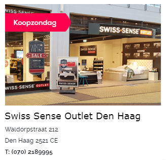 Swiss Sense Boxspring Outlet Den Haag