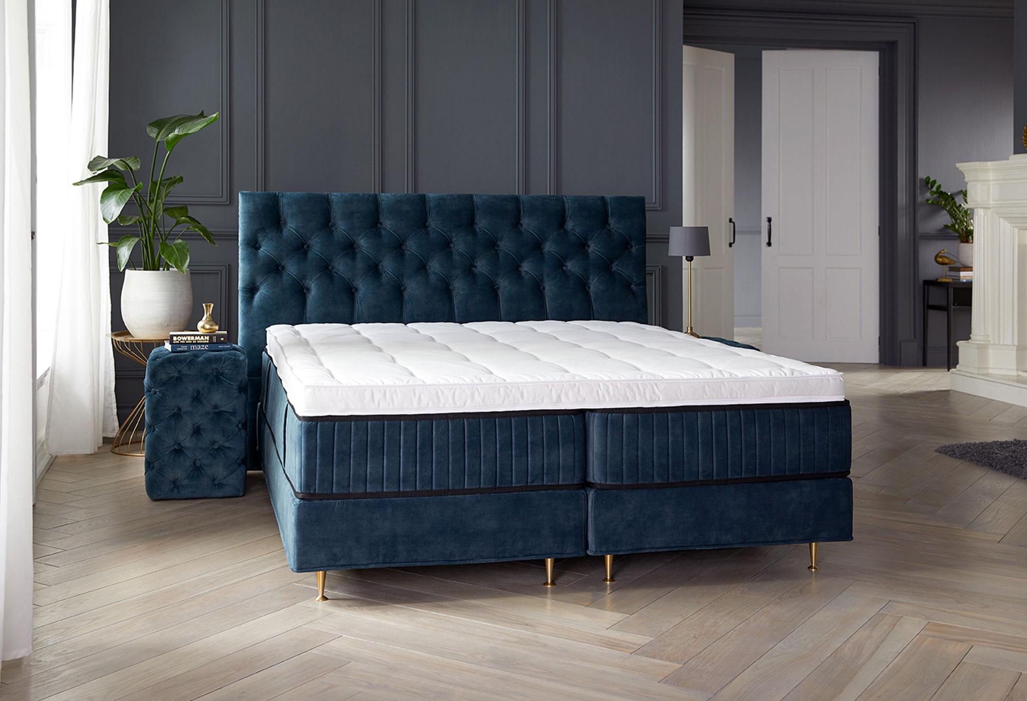 Boxspring Royal Atlantis|Matras| Swiss Sense