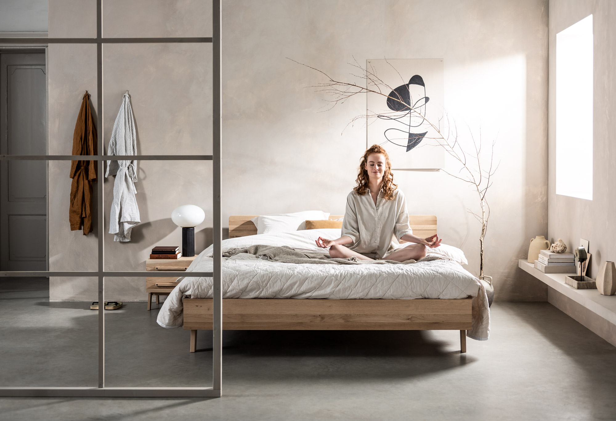 Bedframe balance focus   Swiss Sense
