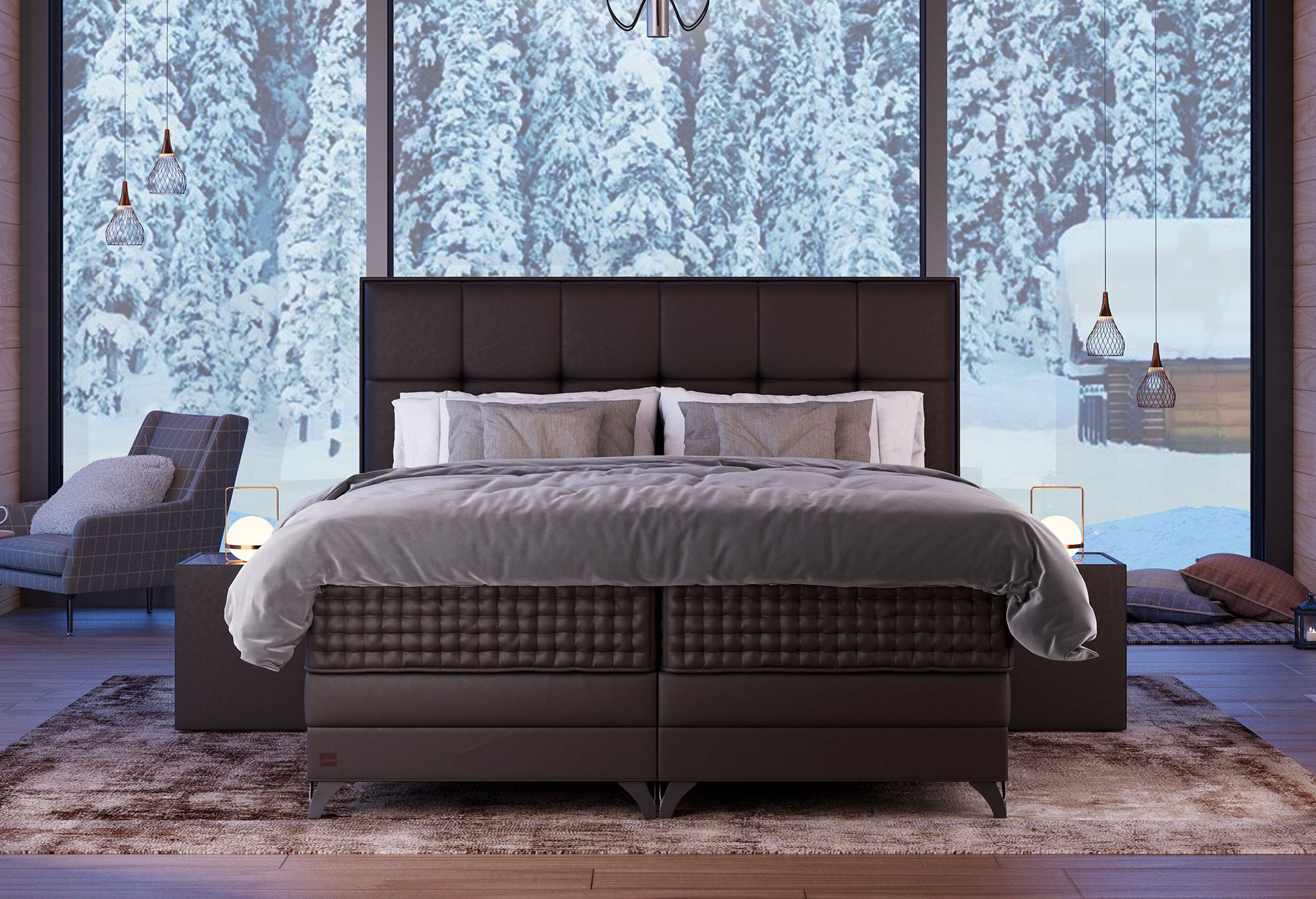 Boxspring Royal Aurora | Swiss Sense