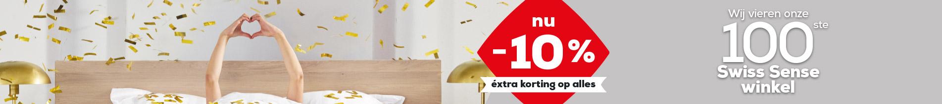 Wij vieren onze 100e winkel! | Swiss Sense