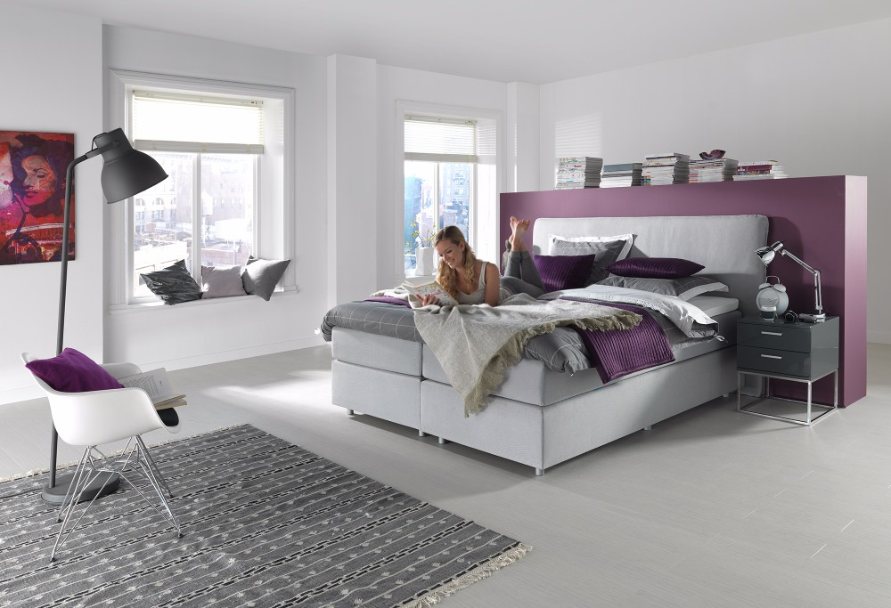 Witte Boxspring Home 300 -4