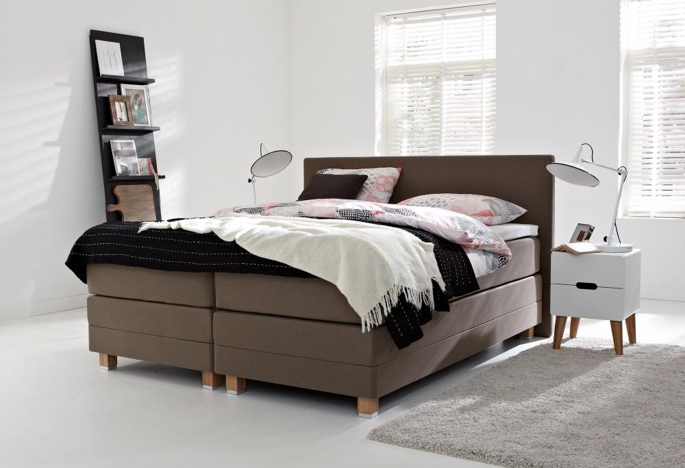 boxspring home 405 swiss sense. Black Bedroom Furniture Sets. Home Design Ideas