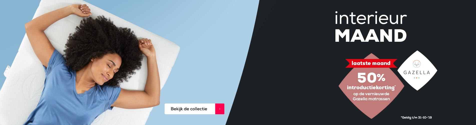 Matrassen | Gazella matrassen 50% introductievoordeel | Swiss Sense