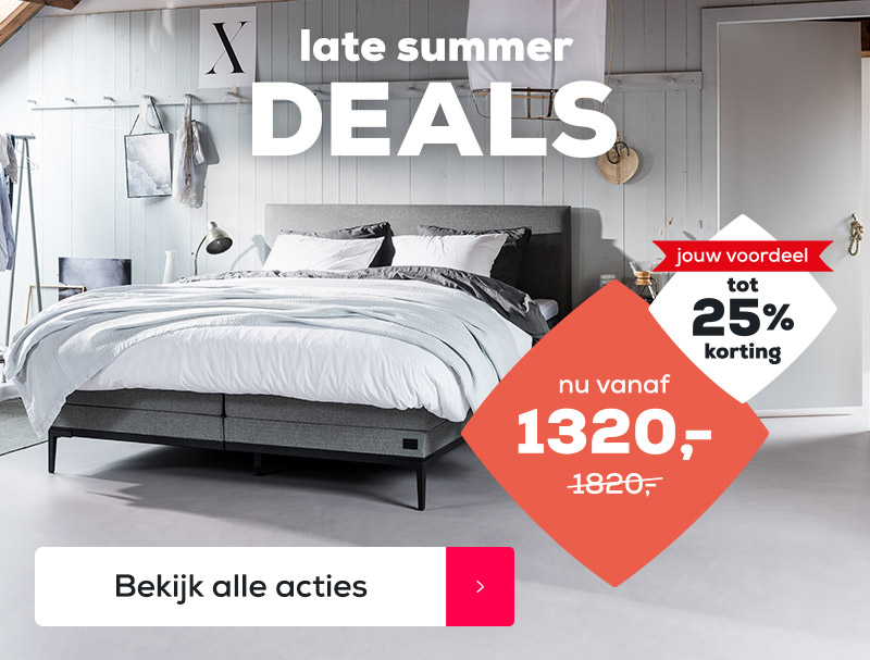 Late Summer Deals Acties | Swiss Sense