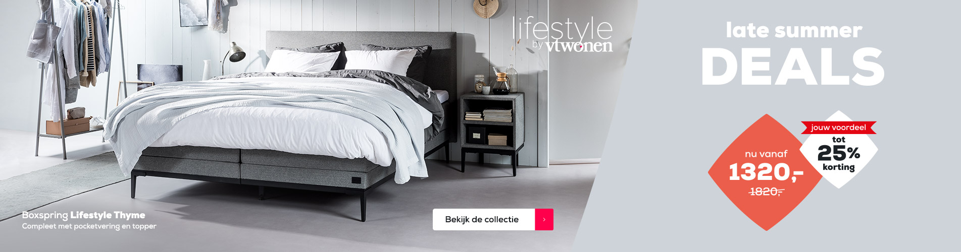 Boxspring Collectie Lifestyle tot 25% korting | Late Summer Deals | Swiss Sense