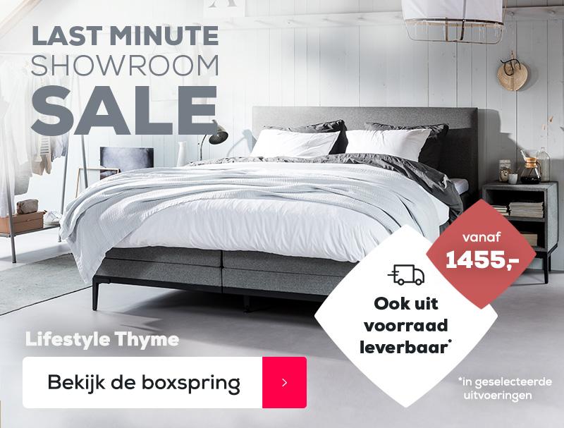 Boxspring Lifestyle Thyme - LMSS | Swiss Sense