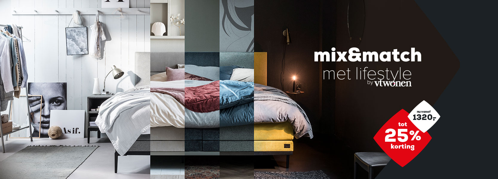Lifestyle by vtwonen Boxspring collectie | Swiss Sense
