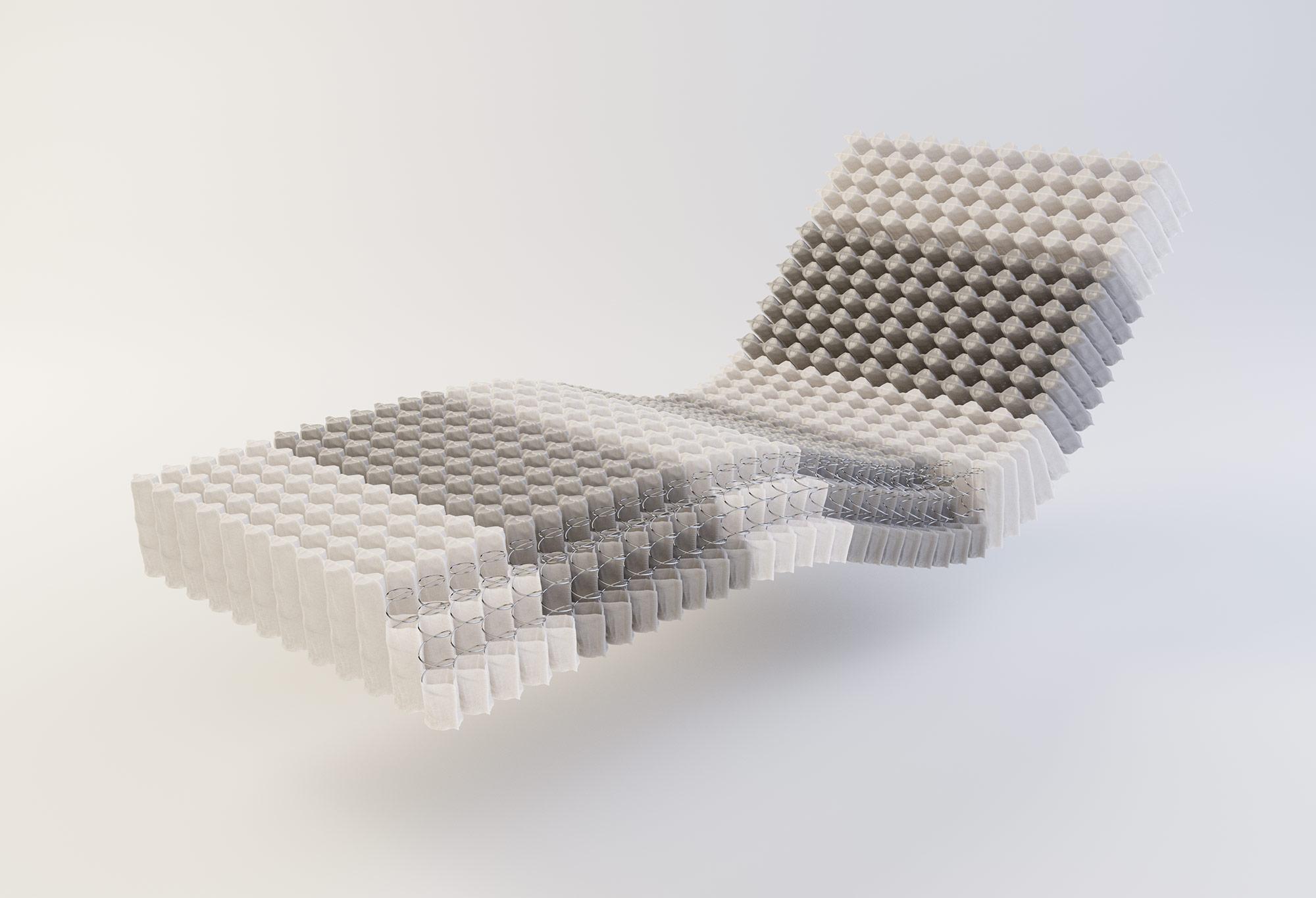 Gazella Comfort IV Micropocketvering Matras Kern| Swiss Sense