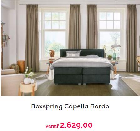 queensize capella boxspring