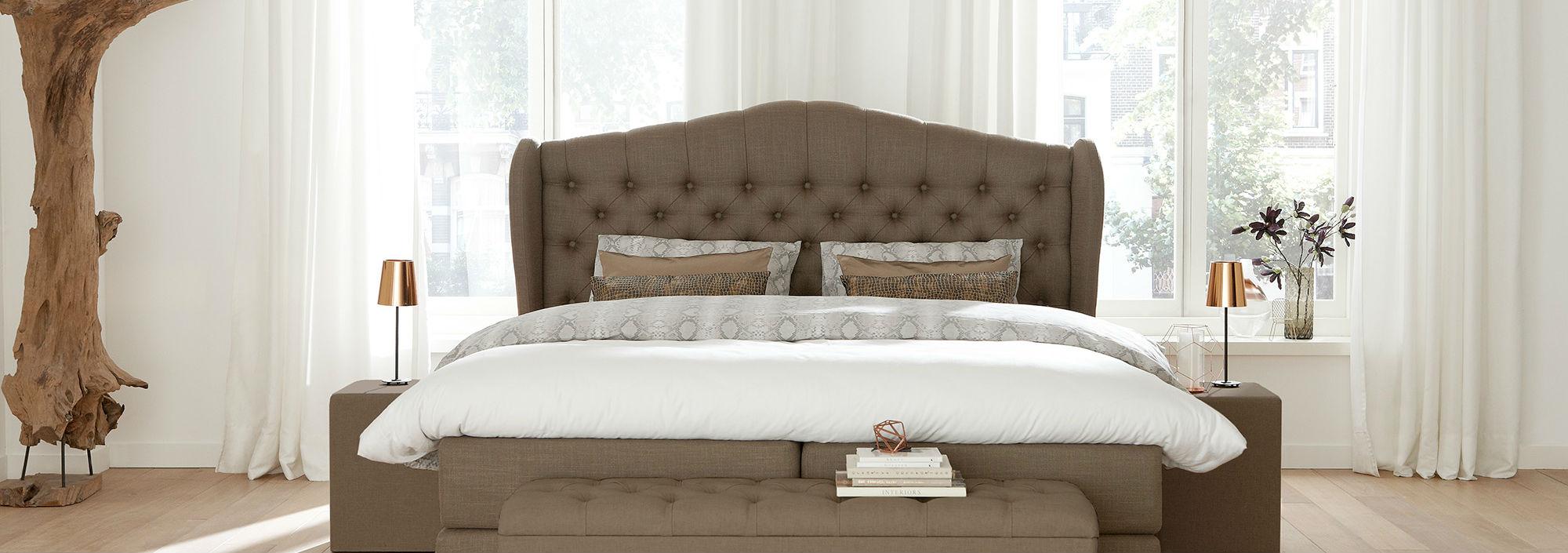 Queensize bedden
