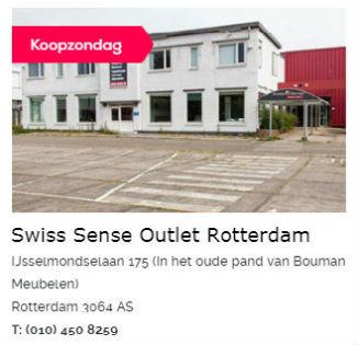 Swiss Sense Boxspring Outlet Rotterdam