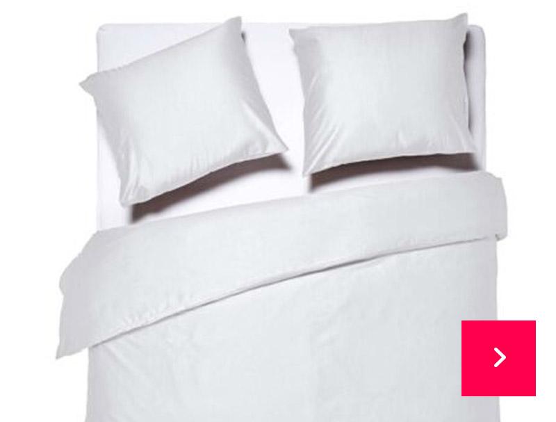Dixxius Luxurious Porto Dekbedovertrek White