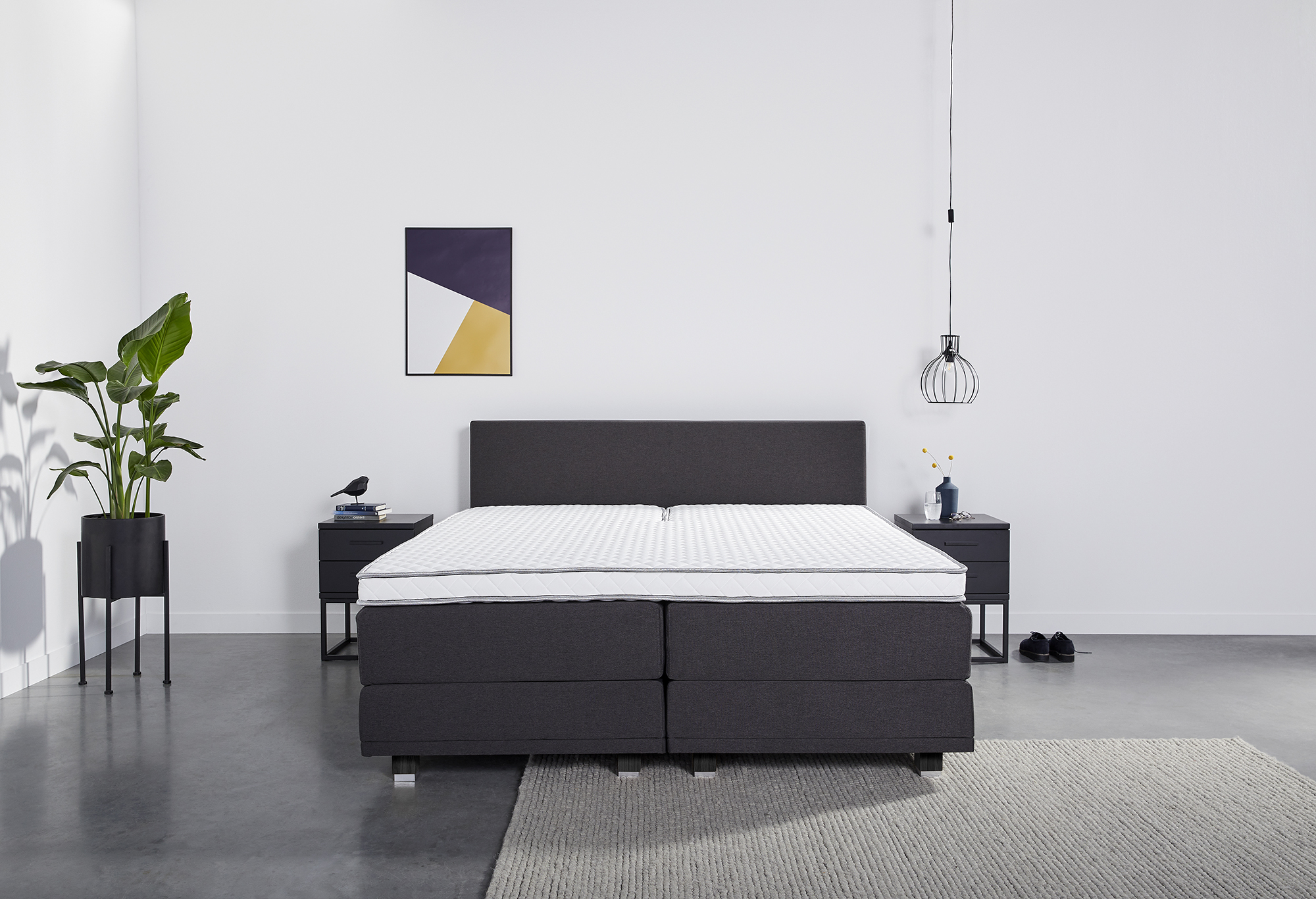 Boxspring Web-Only Snooze Deluxe   Swiss Sense