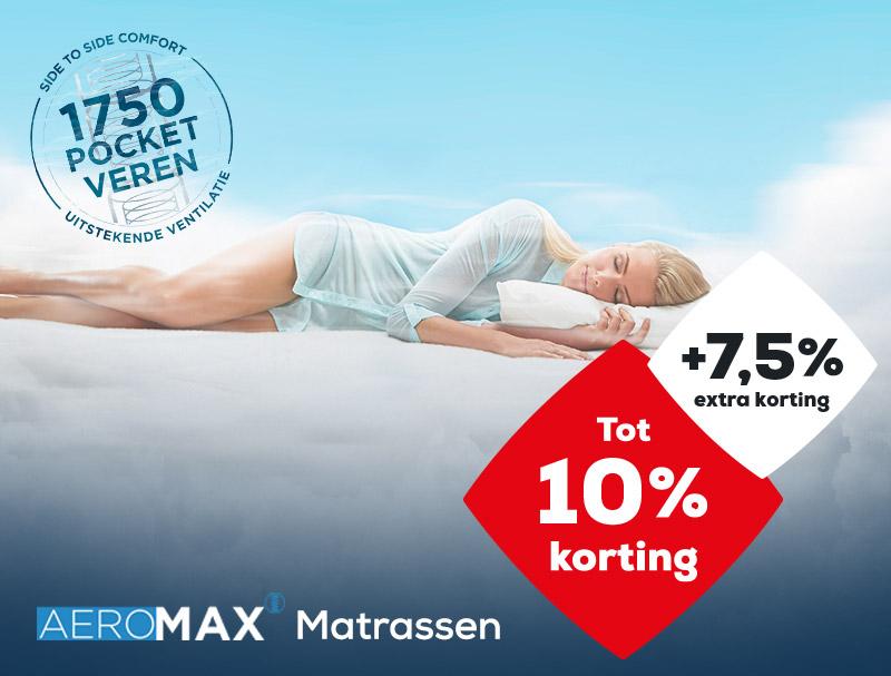 AEROMAX matrassen|Solden 2020| Swiss Sense
