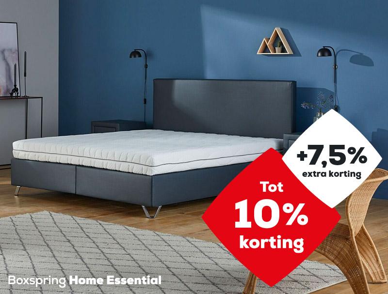 Boxspring Home Essential| Solden 2020| Swiss Sense