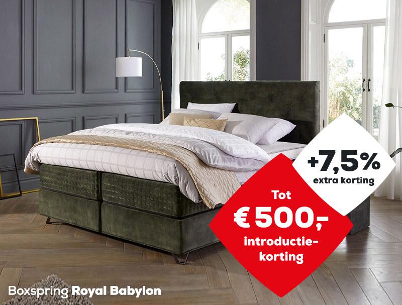 Boxspring Royal Babylon | Solden 2020| Swiss Sense
