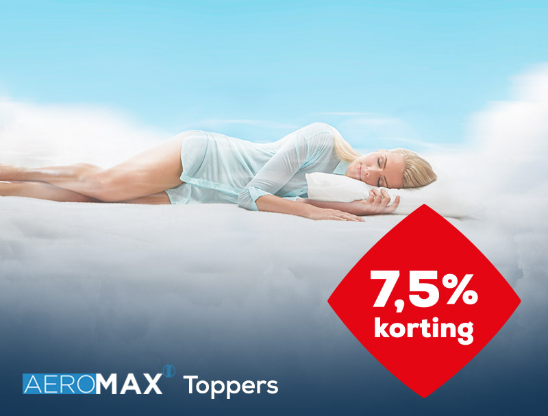 AEROMAX Topper acties |Solden 2020| Swiss Sense