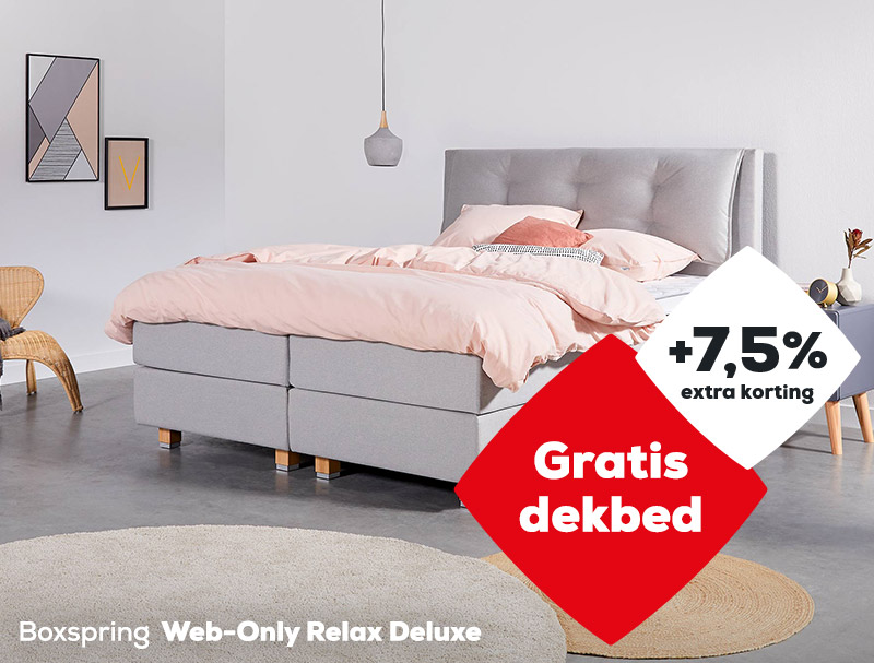 Boxspring Web-Only Relax Deluxe | Solden 2020| Swiss Sense