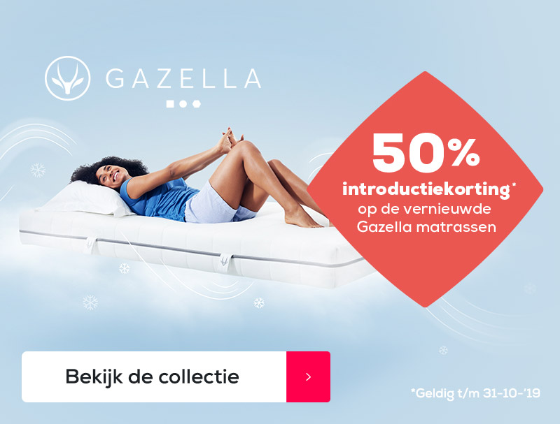 Gazella matrassen   Swiss Sense
