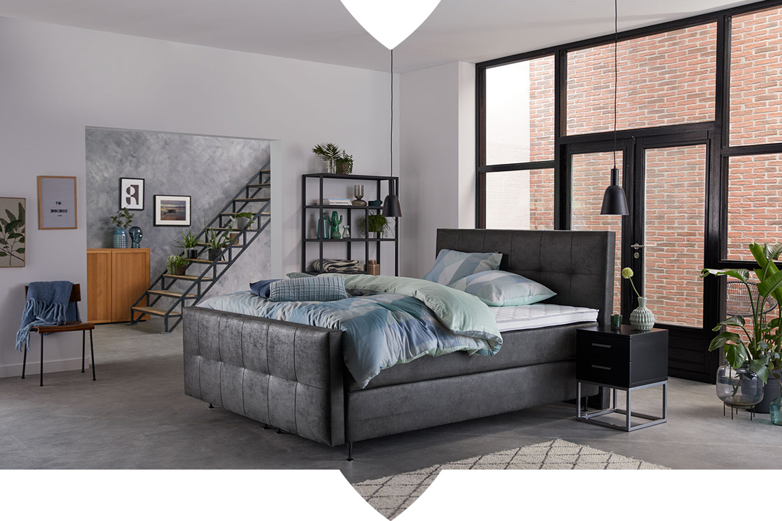 Vintage, basic en industrieel: onze 3 favoriete slaapkamerstijlen