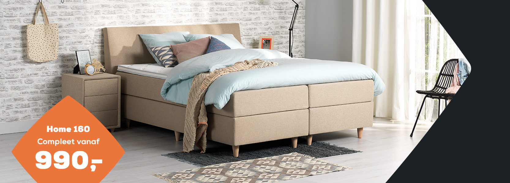 Boxspring Home 160 Summer Deals | Swiss Sense