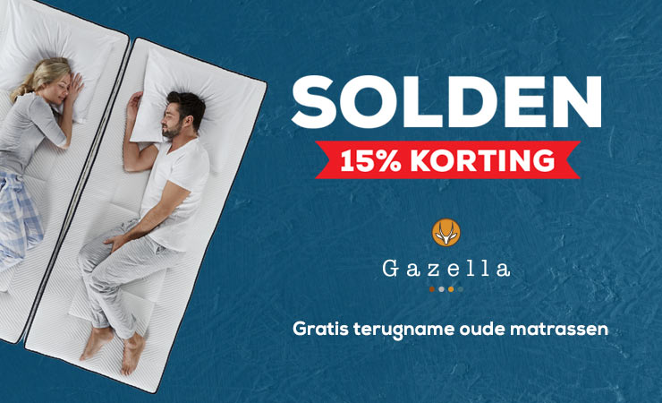 Gazella matrassencollectie   Swiss Sense