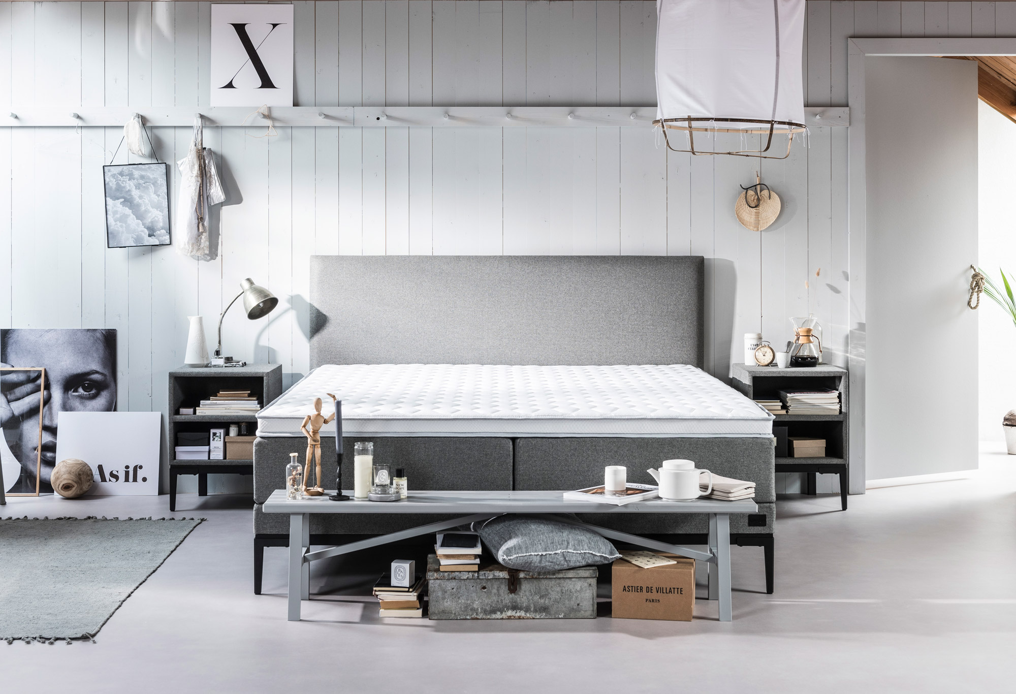 Boxspring Lifestyle by vtwonen Thyme | Swiss Sense
