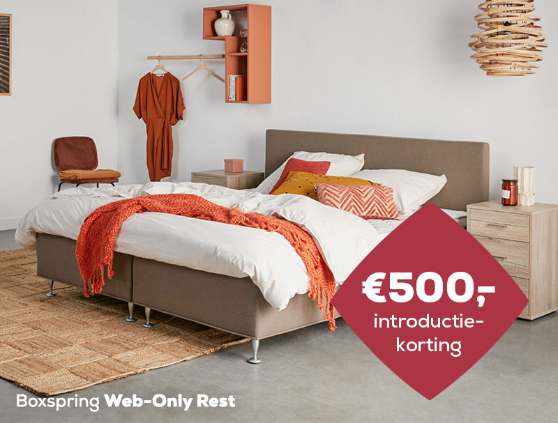 Boxspring Web-Only Rest | Winter Sale | Swiss Sense